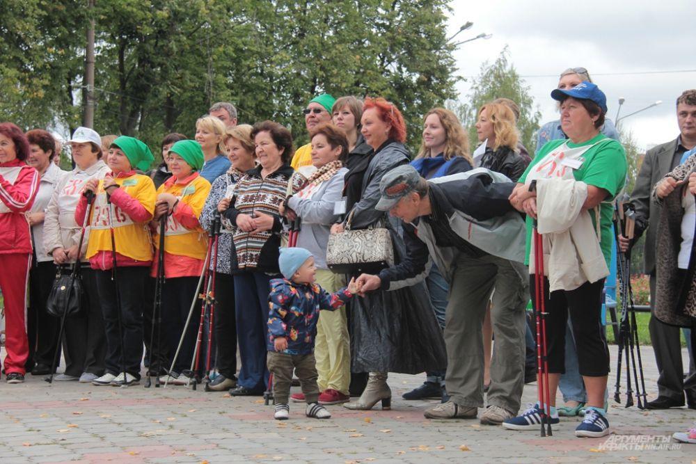 Участники слета призвали всех практиковать финскую ходьбу