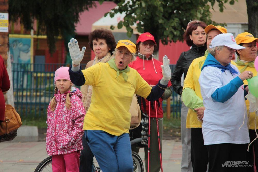 «Как позанимаешься, настроение улучшается, чувствуешь себя великолепно», - говорят пожилые нижегородцы.