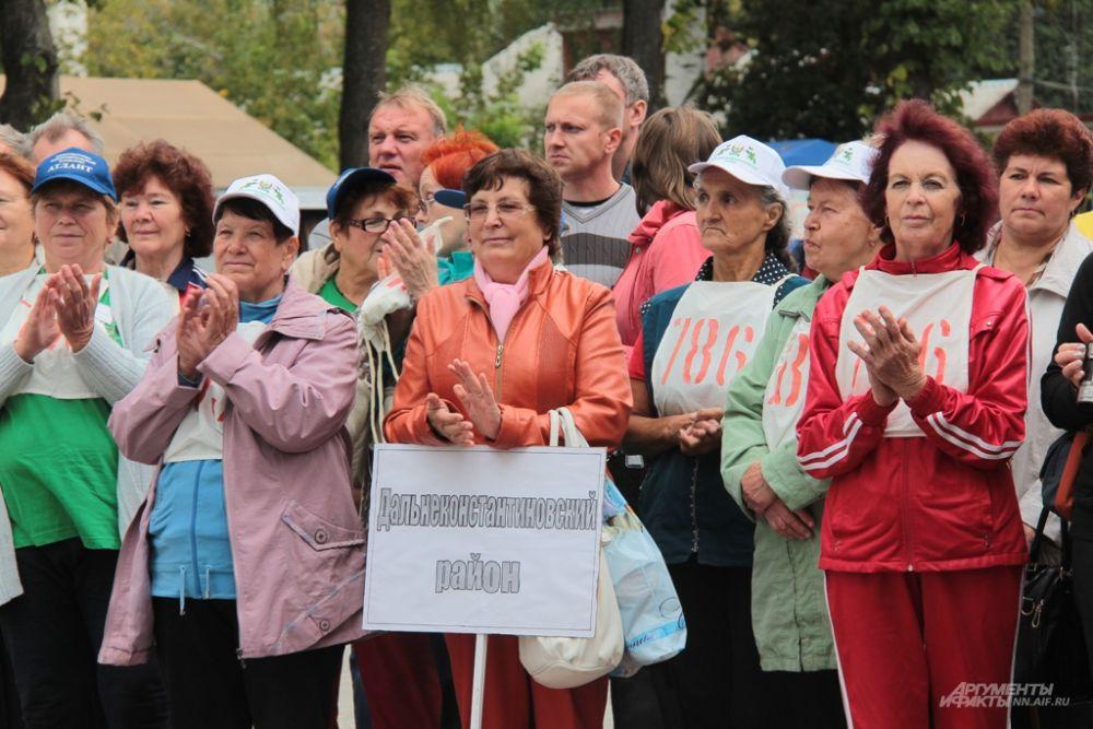 Участниками слета стали 63 пенсионера из 18 районов области