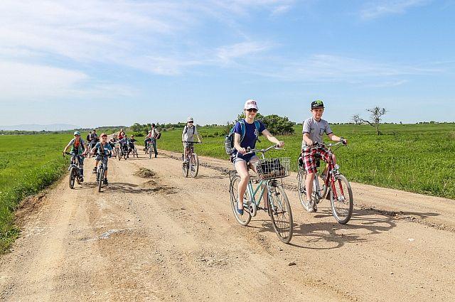 Экотуризм на велосипеде - лучший активный отдых.