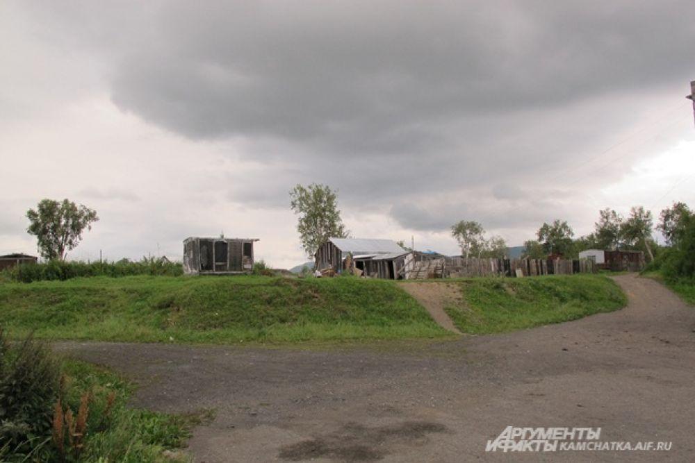 В поселоке Сокоч.