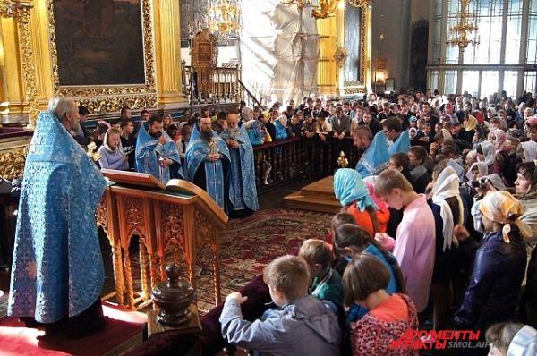 Служба в соборе