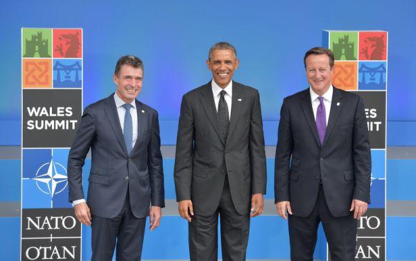 Петр Порошенко на саммите НАТО в Великобритании
