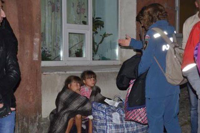 Вынужденные переселенцы из Украины.
