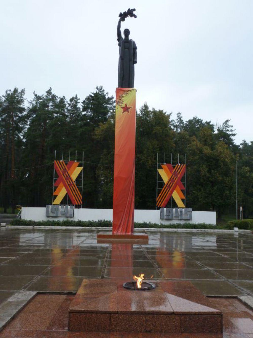 Димитровград: достойный мемориальный комплекс павшим с постоянно действующим Вечным огнём