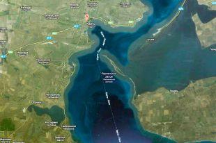 Строительство керченского моста в