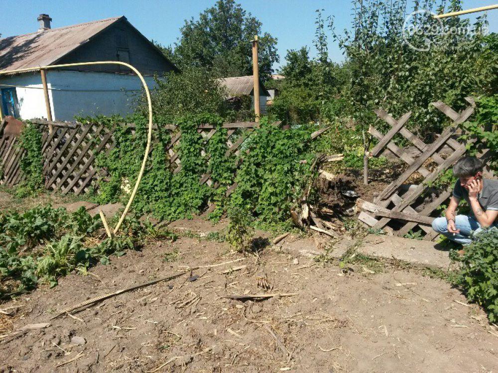 В Мариуполе снаряд перебил газопровод в поселке Каменск