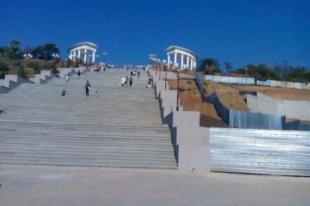 Приморская лестница в Ильичевске