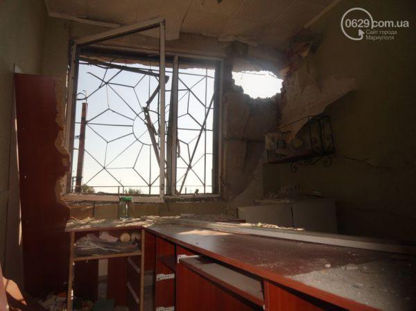 Как выглядит Мариуполь после обстрела в ночь с 6 на 7 сентября
