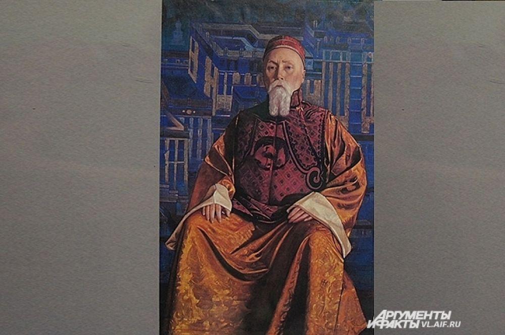 Портрет Святослава Рериха.