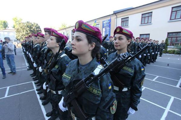 Амазонки Национальной гвардии Украины