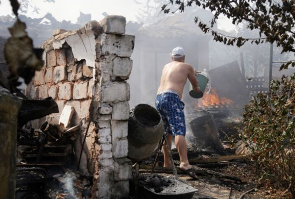 Донецк после объявления перемирия