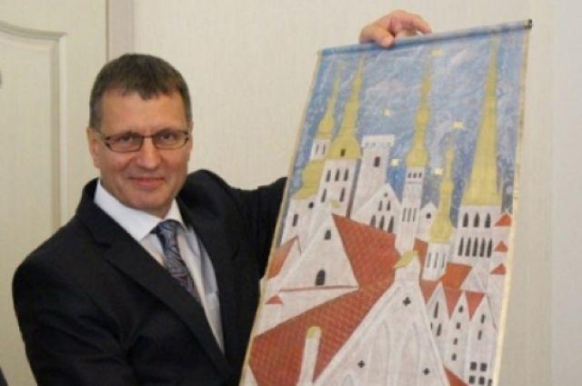 Председатель городского собрания эстонской столицы Тоомас Витсус.