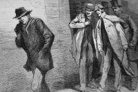 Изображение, опубликованное в газете Illustrated London News 13 октября 1888 года.
