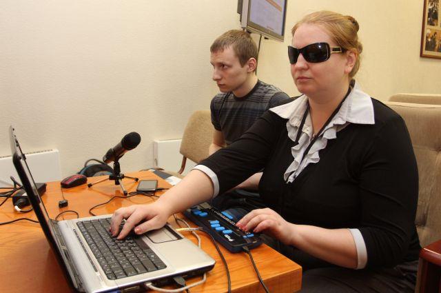В Омске для инвалидов находят работу.