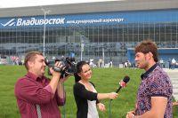 Иван Штыль отвечает на вопросы журналистов.