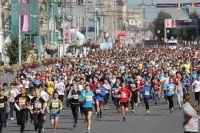 Фестиваль бега в Новосибирске.