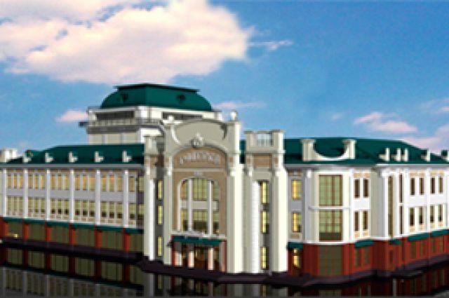 Проект «Галёрки» - обновлённое большое здание.