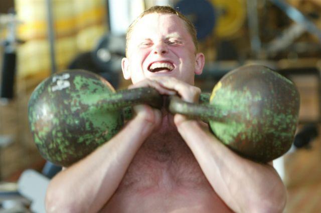 Самым сильным спортсменом стал омич.