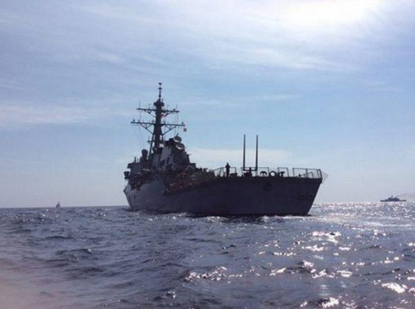 Боевые учения Украины и США в Черном море