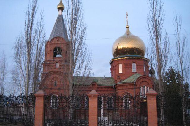 Храм Иконы Казанской Божией Матери.