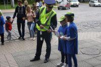 Юные омичи хорошо знают правила дорожного движения.