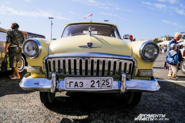 Следующая за «Победой» модель ГАЗа была очень популярной в середине прошлого века.