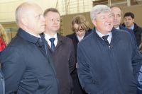 Николай Рогожкин вместе с Виктором Назаровым посетил ведущие предприятия области.