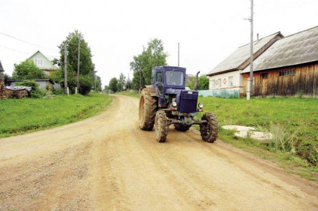 Село могло бы развиваться более быстрыми темпами, если бы государство ему помогало.
