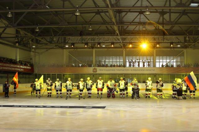 Новый хоккейный дворец открылся в Челябинске на деньги Путина