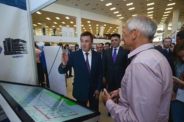 Владимир Миклушевский на выставке IT-EXPO 2014.