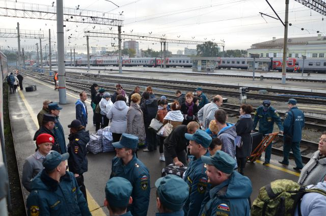 На Средний Урал прибыла новая партия беженцев с Украины