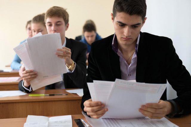 Школьники могут пересдать ГИА.