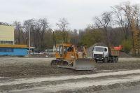 Строительство футбольного поля для