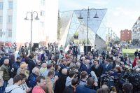 На открытие обновленной улицы Чокана Валиханова пришли не только ее жители, но и почетные гости.