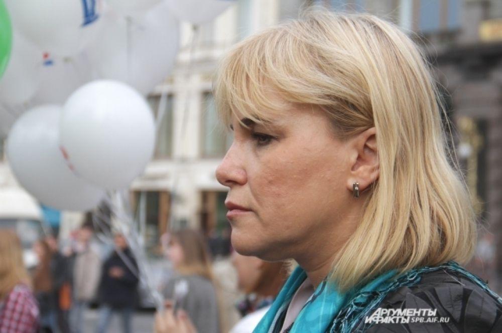 Представитель Северо-Западного филиала сотового оператора Мегафон Людмила Чехова.
