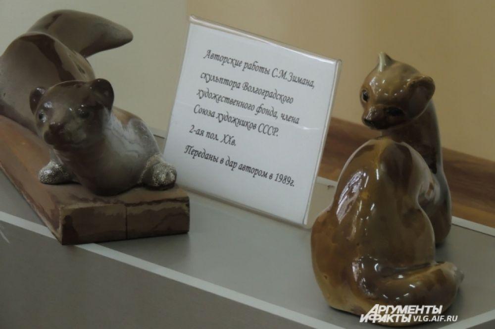 Авторские работы волгоградца, члена союза художников СССР, С.М. Зимана.