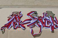 Спортсмены выиграли «серебро» и «бронзу».