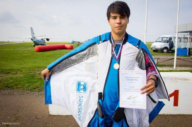 Бейсджампер Ратмир Нагимьянов выиграл соревнования по вингсьют-гонкам