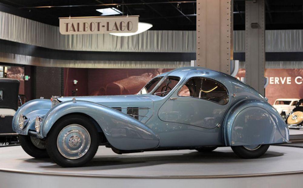 1936 Bugatti 57SC Atlantic – $40 млн