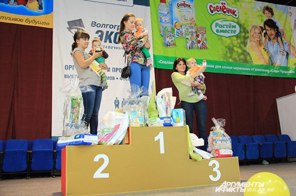 Победители в категории 7-8 месяцев.