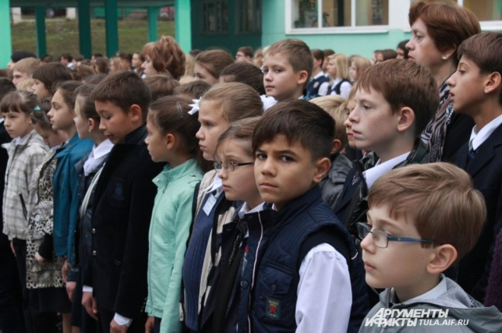 Дети знают и помнят имя кого носит школа, в которой они учатся