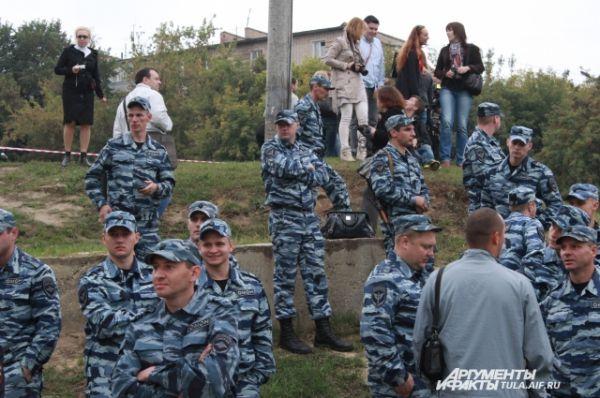 Полицейские собрались ради памяти одного из них...