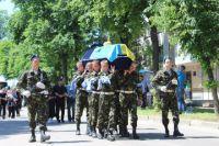 Похороны погибших в зоне АТО