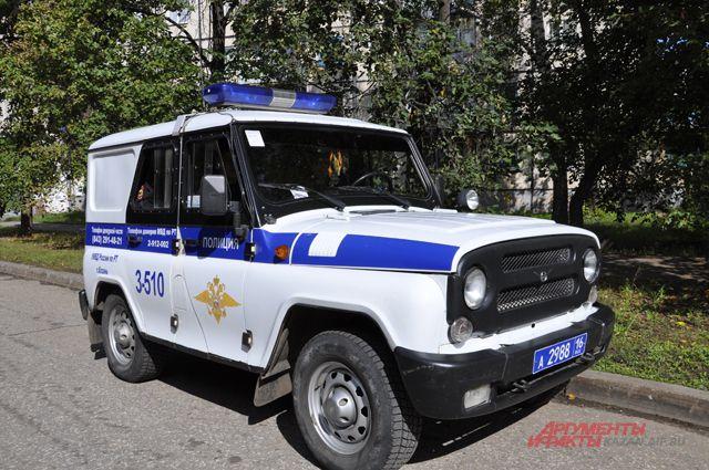 Полицейский патруль.