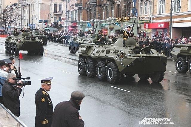 Морская пехота ТОФ