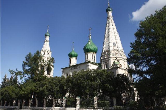 Церковь Ильи Пророка - визитная карточка Ярославля.