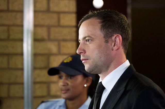 Оскар Писториус перед оглашением приговора.