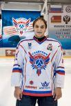 Никита Козлов Родился в 1990 году, рост - 183 сантиметра, вес – 92 килограмм. На лед выходит под номером 63. Воспитанник уфимского ХК «Салават Юлаев».