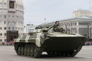 Парад Победы в Челябинске 9 мая 2014 года.